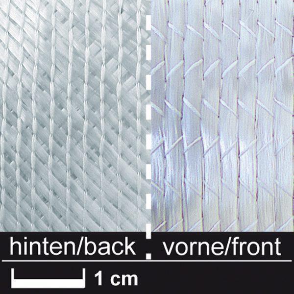Triaxial glasfiber non-crimp 830 g/m², 127 cm