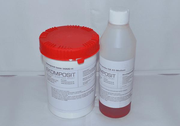 Lamineringsepoxy - Tid: 40 min 0,75kg