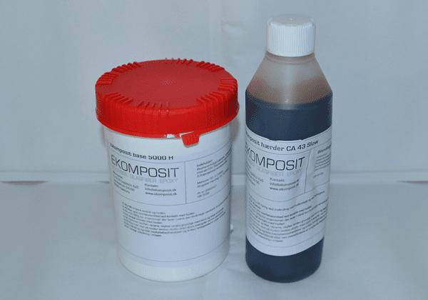 Lamineringsepoxy - Tid: 40 min. 1,5kg