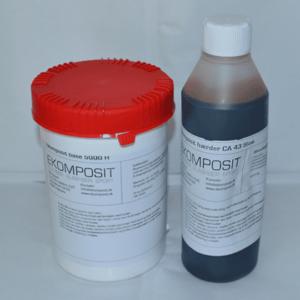 Lamineringsepoxy - Tid: 40 min. 7,5kg